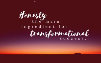 Honesty and its transformational potential